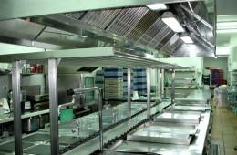 Limpieza de cocina con maquina de ultrasonidos