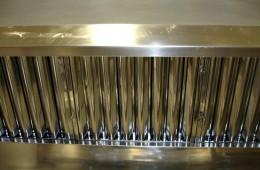 Limpieza de campana extractora de acero